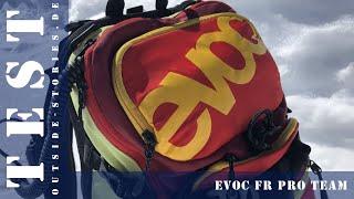 Produkttest Evoc FR Pro Team