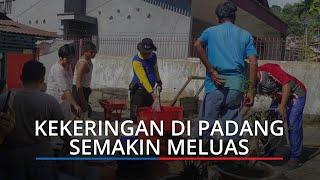 Kekeringan di Padang Kian Meluas, Melanda Tujuh Kelurahan, 250 KK Terdampak