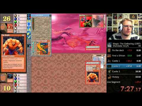 Gameplay de MTG Shandalar