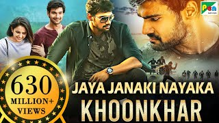 Jaya Janaki Nayaka KHOONKHAR | Full Hindi Dubbed Movie | Bellamkonda Sreenivas, Rakul Preet Singh