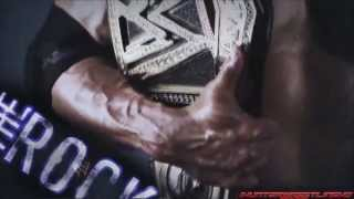 "WWE : The Rock Custom Titantron 2013 - ""Electrifying"" [HD]"