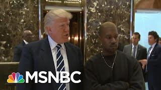 Kanye West Shocks With Vocal Support Of President Donald Trump | AM Joy | MSNBC