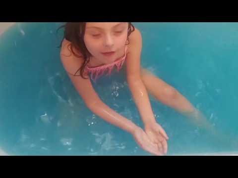 💙 Bath Bomb Challenge | Captain America Bath Bomb