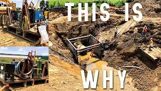 WHY AND HOW WE WORK OFF OF A SLED OR MARUKA BUGGY AS PIPELINE WELDERS