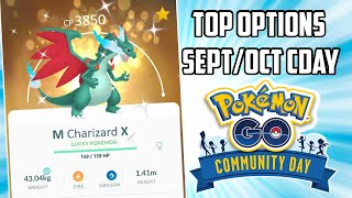 Top Pokemon to Vote for Sept/Oct Community Day in Pokemon GO!
