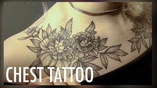 CHEST TATTOO VLOG | (so. Much. PAIN.)