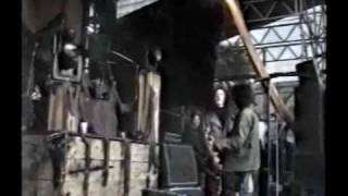 Nine Inch Nails Stonehenge Spinal Tap Moment Live