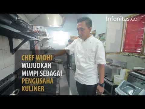 Chef Widhi Wujudkan Mimpi Sebagai Pengusaha Kuliner