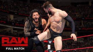 FULL MATCH - Roman Reigns vs. Finn Bálor: Raw, July 25, 2016