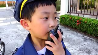 수박 경찰차 바퀴 과일 수리놀이 예준이의 전동 자동차 수리방법 경찰 장난감 로보카 폴리 핑거송 Watermelon Kids Car Repair Power Wheels