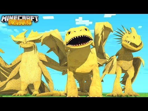 THE GOLDEN NIGHTFURY! - Minecraft Dragons