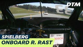 René Rast (Audi RS5 DTM) - LIVE Onboard (Race 2) - DTM Spielberg 2018