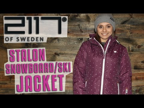 2117 of Sweden Stalon Snowboard/Ski Jacket 2018 – Review – TheHouse.com
