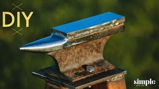 How to make a Blacksmith Anvil From a Railroad Track