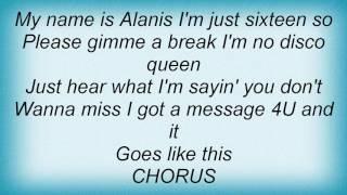 Alanis Morissette - Oh Yeah! Lyrics
