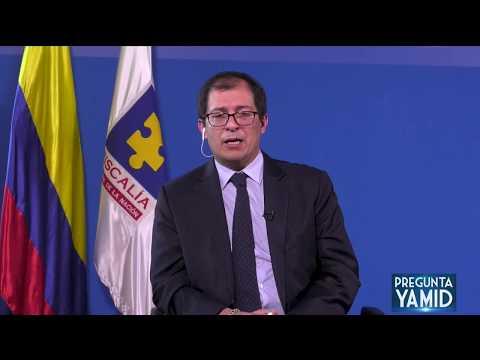 Pregunta Yamid: Francisco Barbosa, Fiscal General de la Nación. Segunda Parte (7 de abril de 2020)