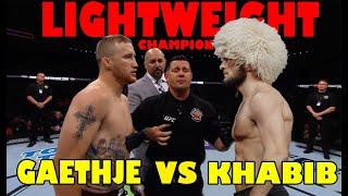 PALING DITUNGGU !!! Pertarungan antara Khabib Nurmagomedov vs Justin Gaethje