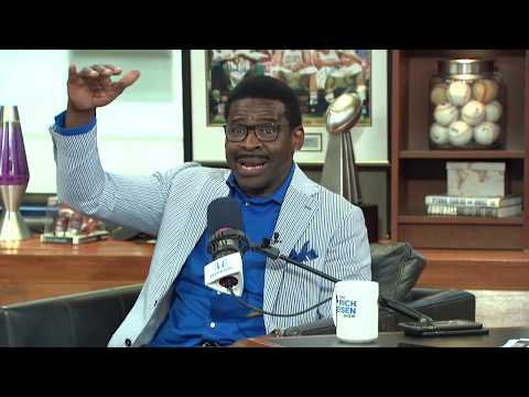Michael Irvin Talks Andrew Luck, The U Pep Talk & More with Rich Eisen | Full Interview | 8/27/19