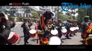 Kirab Merah Putih Jawa Barat Dimeriahkan Ribuan Peserta