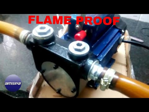 Flameproof Petrol Transfer Pump