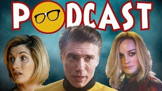 Star Trek and Captain Marvel Access Media | Doctor Who Apathy | The Umbrella Academy & News