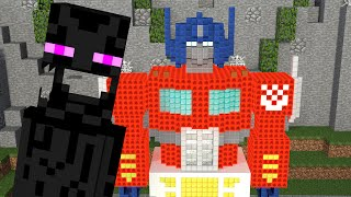 Monster School: Build Battle - Minecraft  Animation