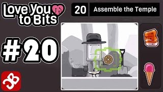 Love You To Bits - Level 20 Assemble the Temple - Gameplay Walkthrough Video