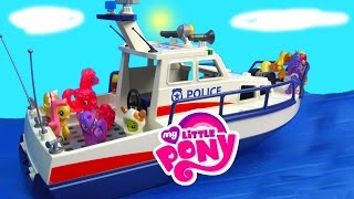 Shopkins MLP Airplane Airport Rescue Boat My Little Pony 20 Twilight Pinkie Pie Series Video