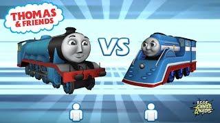 Thomas & Friends: Go Go Thomas 2.0 | GORDON Vs THOMAS STREAMLINE, BOARING FALLS Map! By Budge