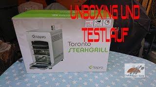 Tepro Toronto Steakgrill [ Unboxing und Testlauf ]