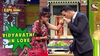 Vidyavathi Head Over Heels For Akshay - The Kapil Sharma Show