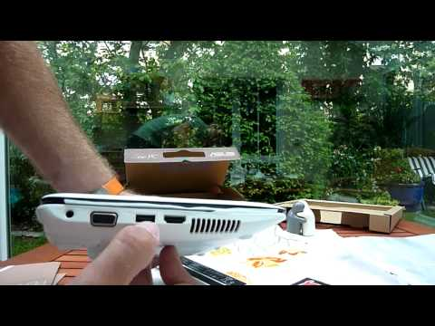 Asus Eee PC 1015B Unboxing