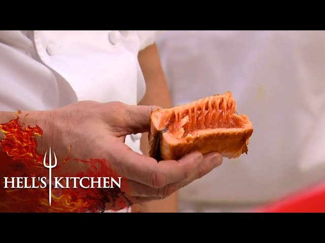 Gordon FURIOUS Over Raw Fish | Hell's Kitchen