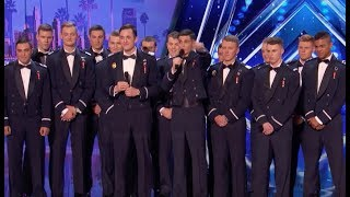 Handsome Air Force Academy Singers | Week 3 | America's Got Talent 2017