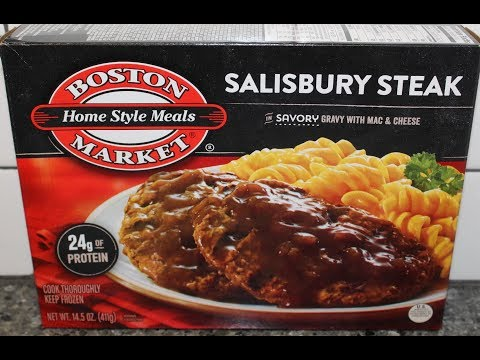 Boston Market: Salisbury Steak Review