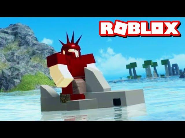 SHARK RIDING UPDATE!! | Roblox Booga Booga