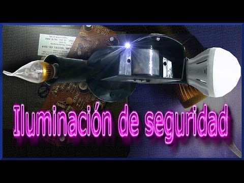 Iluminación de seguridad - Security light
