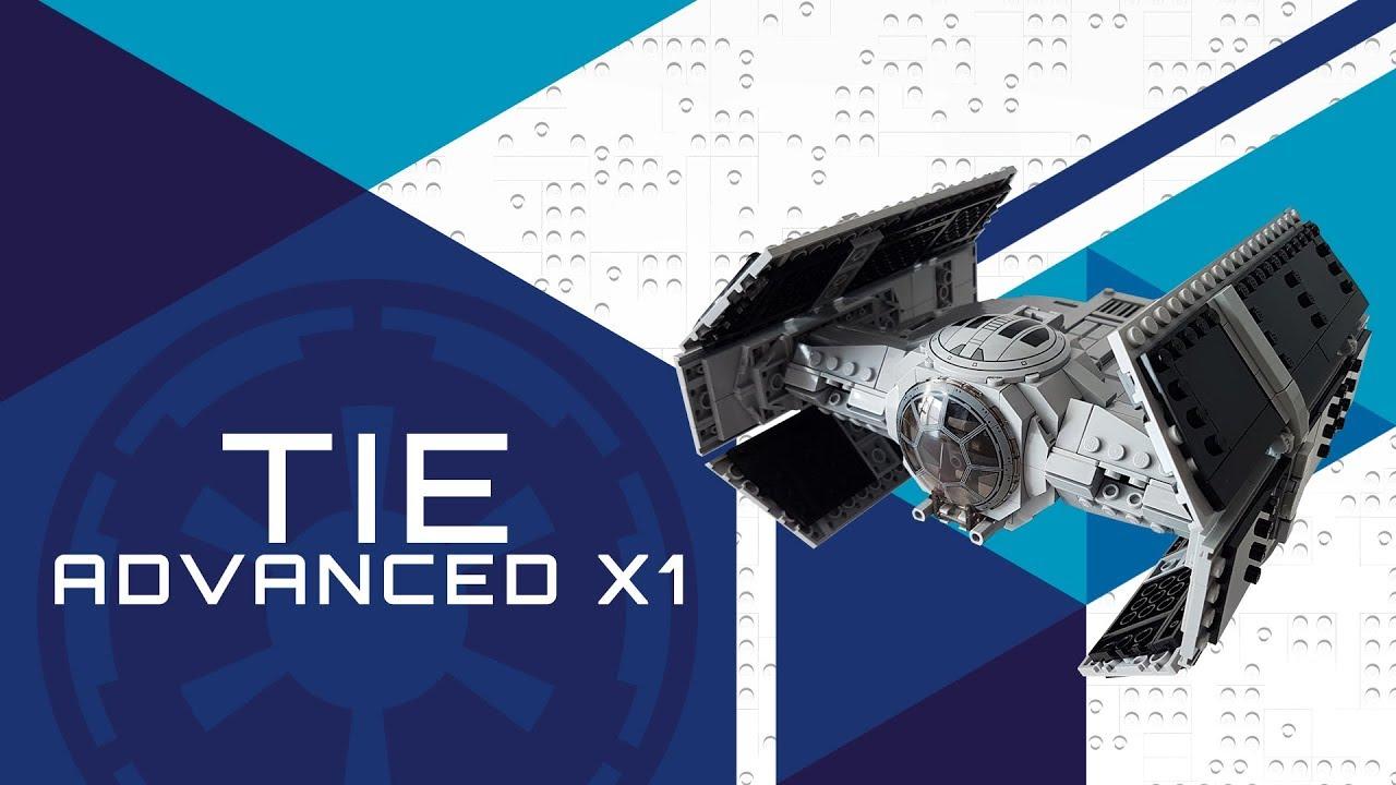 Lego Star Wars Vader's TIE Advanced X1 MOC