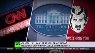 Orwellian doublespeak? '1984' bestseller again in wake of 'alternative facts' frenzy