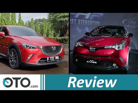 Toyota C-HR vs Mazda CX-3 | Review | Komparasi | OTO.com