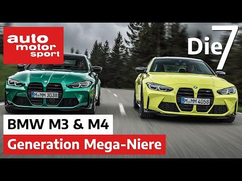 BMW M3 & BMW M4 - 7 Fakten zu den Neuen mit Mega-Niere | auto motor und sport