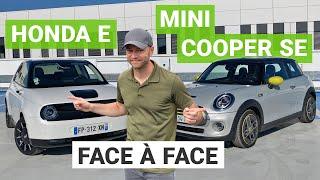 HONDA E vs. MINI COOPER SE : le match des citadines électriques premium !