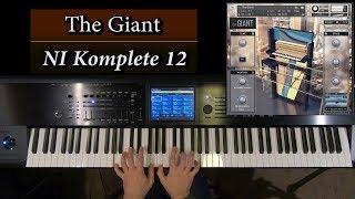 The Giant Piano Kontakt 6 Demo - NI Komplete 12