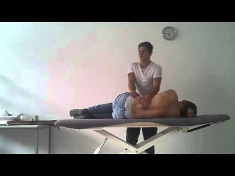 Schmerzen, die in den Hals der Halswirbelsäule gibt es