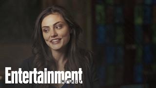 The Originals: Phoebe Tonkin, Joseph Moran & Daniel Gillies On Parenting | Entertainment Weekly