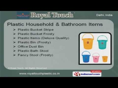 Corporate Video of Royal Touch Plastics, Sudershan Park, Delhi