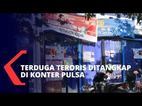 Densus 88 Tangkap 1 Terduga Teroris di Konter Pulsa Medokan Sawah Surabaya