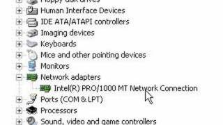 How to get to device manager in Windows XP