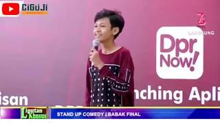 Stand Up Comedy, Aji Pratama: Gesperin Anggota DPR Yang Korupsi