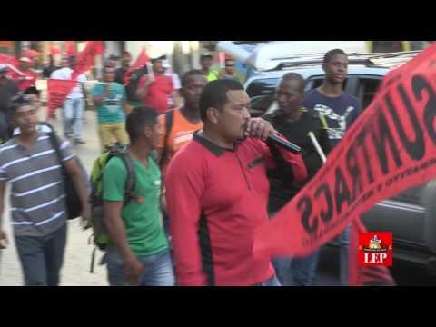 Frenadeso marcha contra la corrupción